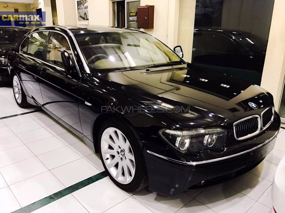 bmw 7 series 745li 2003 for sale in lahore pakwheels. Black Bedroom Furniture Sets. Home Design Ideas