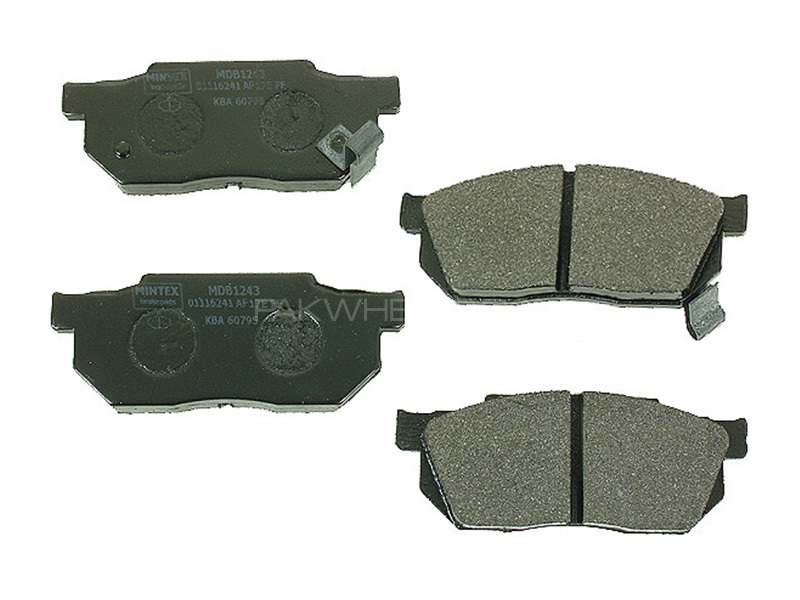 Honda Civic Hybrid 2005 - 2010 Genuine Front Brake Pads Image-1