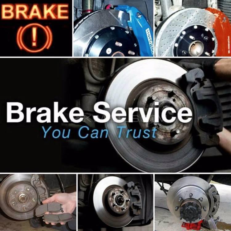 Brake Pads Honda With Fitting & Installation Image-1