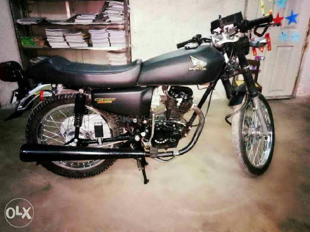 used honda cg 125 2016 bike for sale in karachi 187217 pakwheels. Black Bedroom Furniture Sets. Home Design Ideas