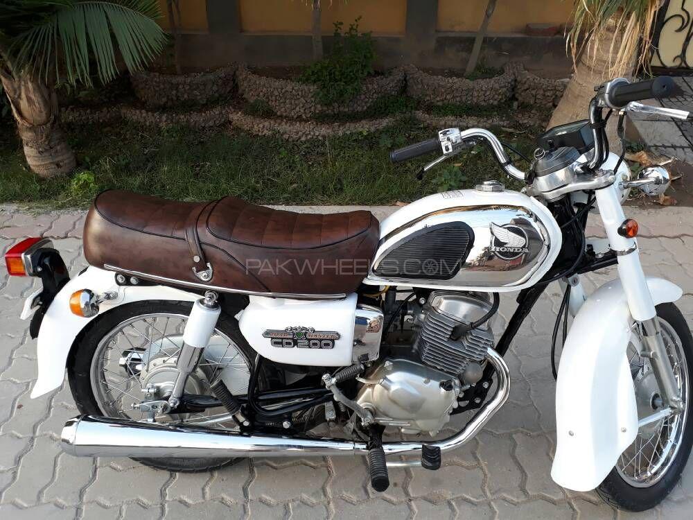 Used honda cd 200 1982 bike for sale in islamabad 187542 for Honda motor finance phone number