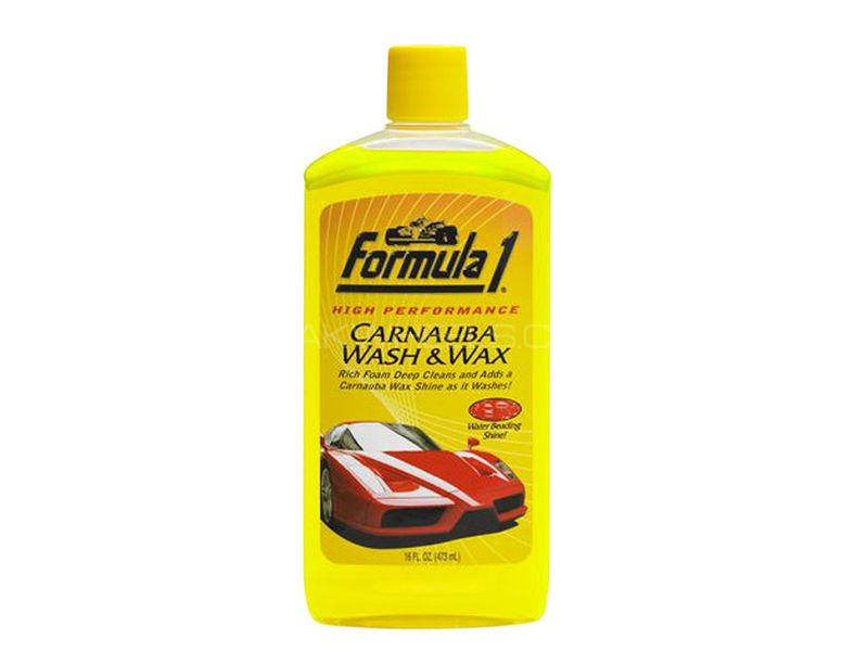 Formula 1 Carnauba Wash and Wax Shampoo (473ml) Image-1