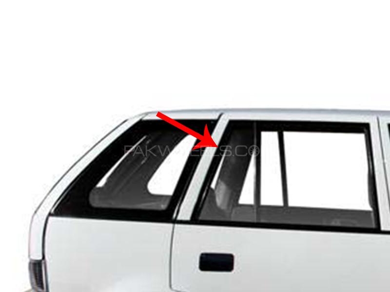 Suzuki Cultus Rear Door Quarter Glass LH or RH 1pc Image-1