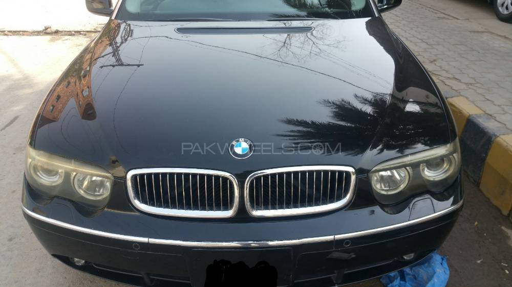 BMW 7 Series 745Li 2002 Image-1