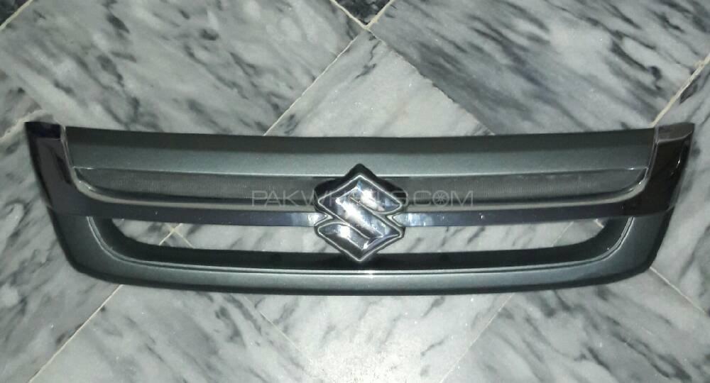 Front Bumper Crome Grill of Cultus 2014 S/ Green Image-1