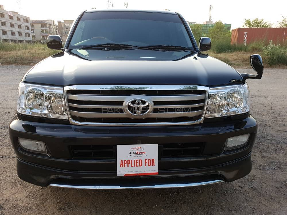 toyota land cruiser vx limited 4 2d 2005 for sale in islamabad pakwheels. Black Bedroom Furniture Sets. Home Design Ideas