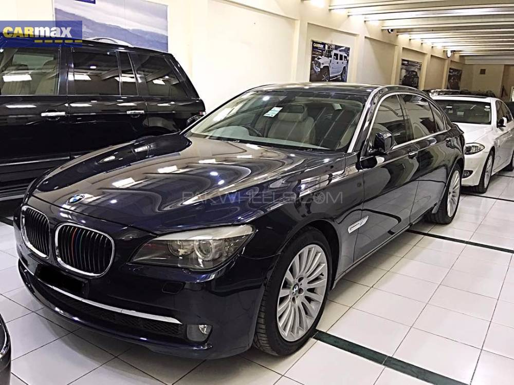 bmw 7 series 750li 2009 for sale in lahore pakwheels. Black Bedroom Furniture Sets. Home Design Ideas