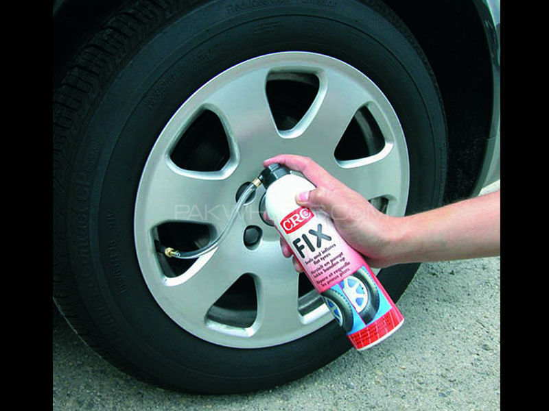 CRC Fix Emergency Seals & Inflates Tyres - 500ml Image-1