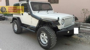 wrangler 98 model 2015 khi reg ,, full option  4 lit  cc  sports  suspenison  with cooper tyres etc just like new