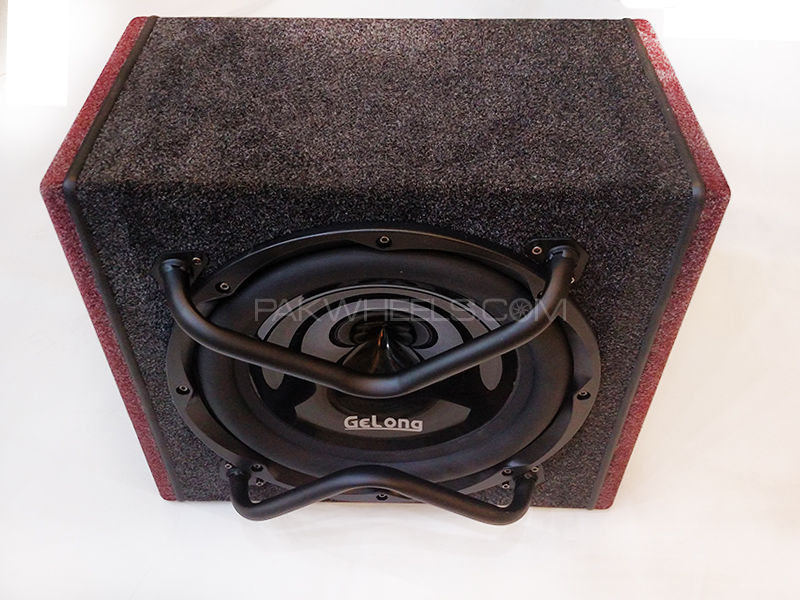 Gelong Subwoofer With Enclosure & Amplifier in Lahore