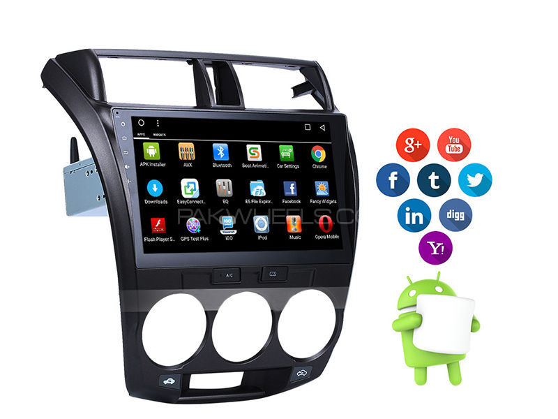 Premier Android Tab For Honda City 2009-2016 Image-1