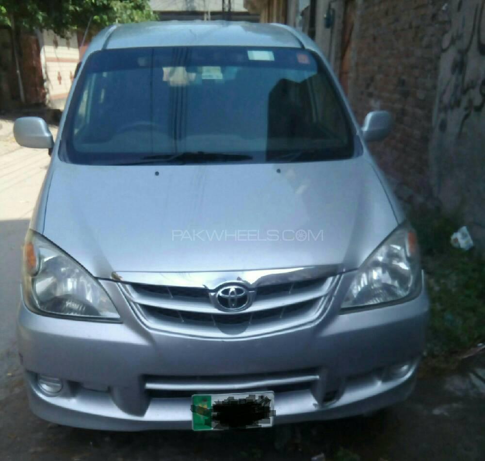 Toyota Avanza Standard 1 5 2010 For Sale In Lahore Pakwheels