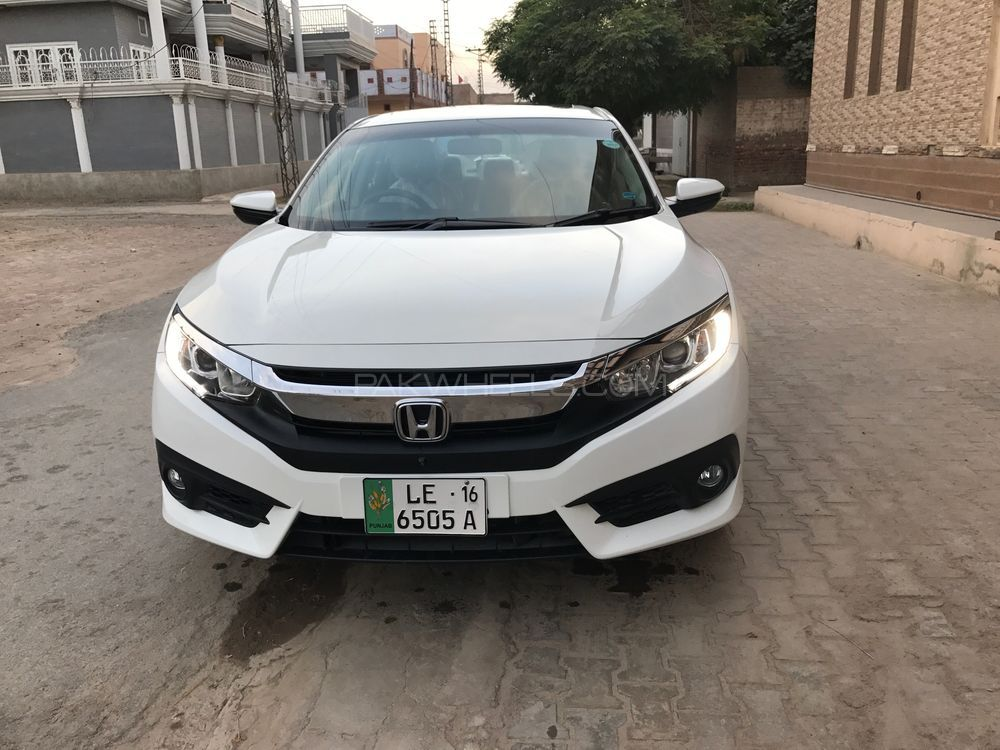 honda civic oriel 1 8 i vtec cvt 2016 for sale in lahore. Black Bedroom Furniture Sets. Home Design Ideas