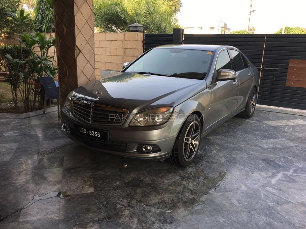 Mercedes benz c class c180 2008 for sale in lahore pakwheels for Mercedes benz c class 2008 for sale