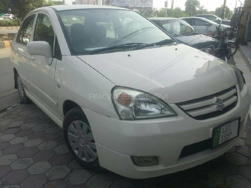 suzuki liana rxi cng 2007 for sale in lahore pakwheels. Black Bedroom Furniture Sets. Home Design Ideas