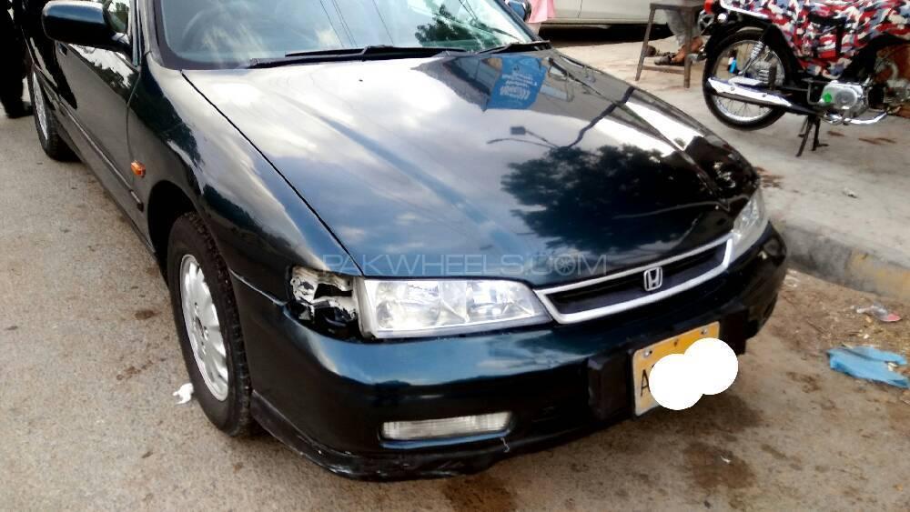 Honda accord ex 1996 for sale in karachi pakwheels for Used car commercial 1996 honda accord