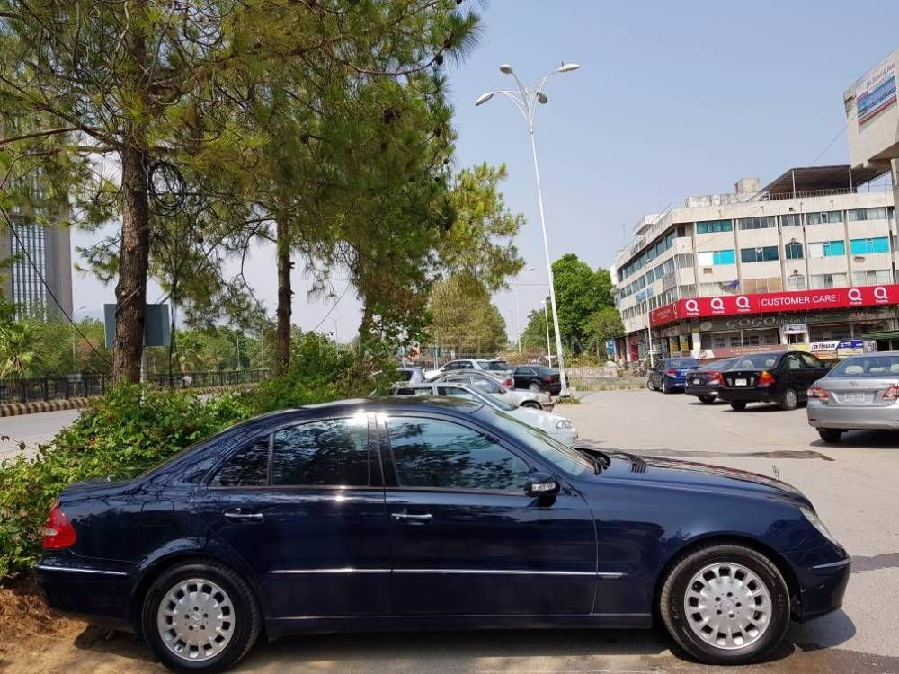 Mercedes benz e series 2003 for sale in islamabad pakwheels for New e series mercedes benz