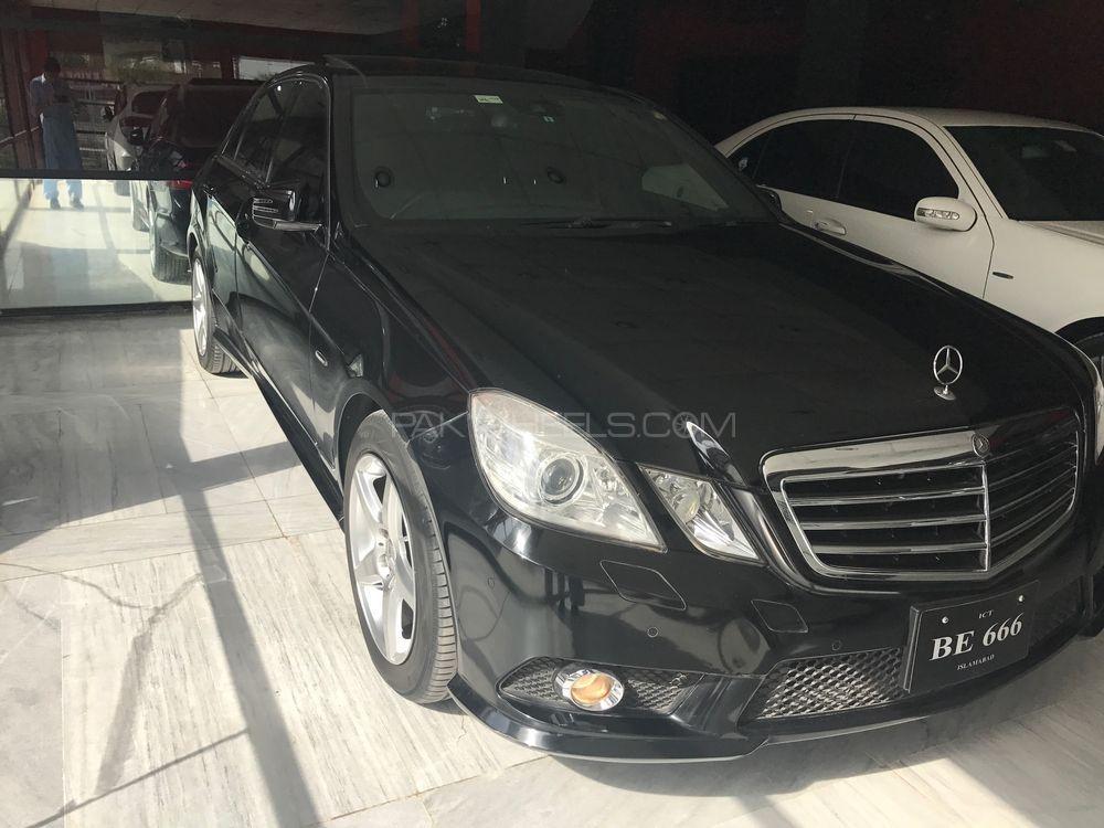 Mercedes Benz E Class E250 2009 Image-1