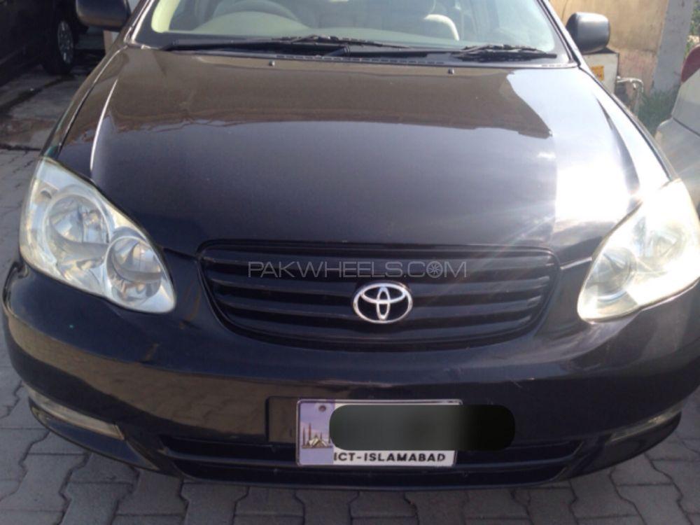 Toyota Corolla GLi 1.3 2003 Image-1