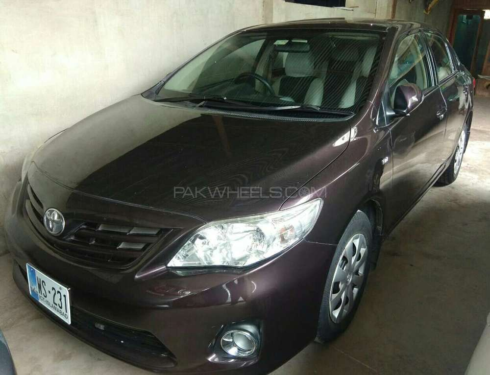 Toyota Corolla GLi 1.3 VVTi 2012 Image-1