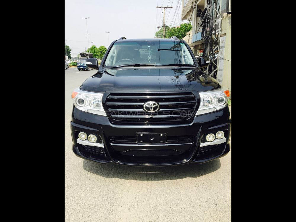 Toyota Land Cruiser ZX 60th Black Leather Selection 2010 Image-1