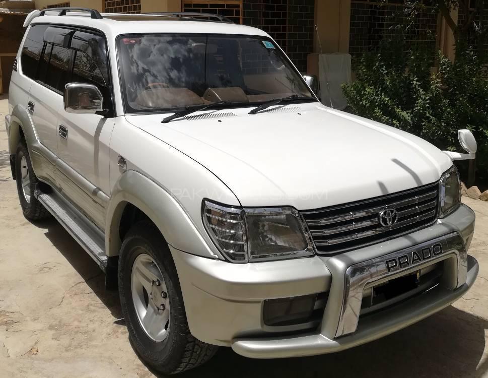 Toyota Prado TZ 3.0D 2002 Image-1