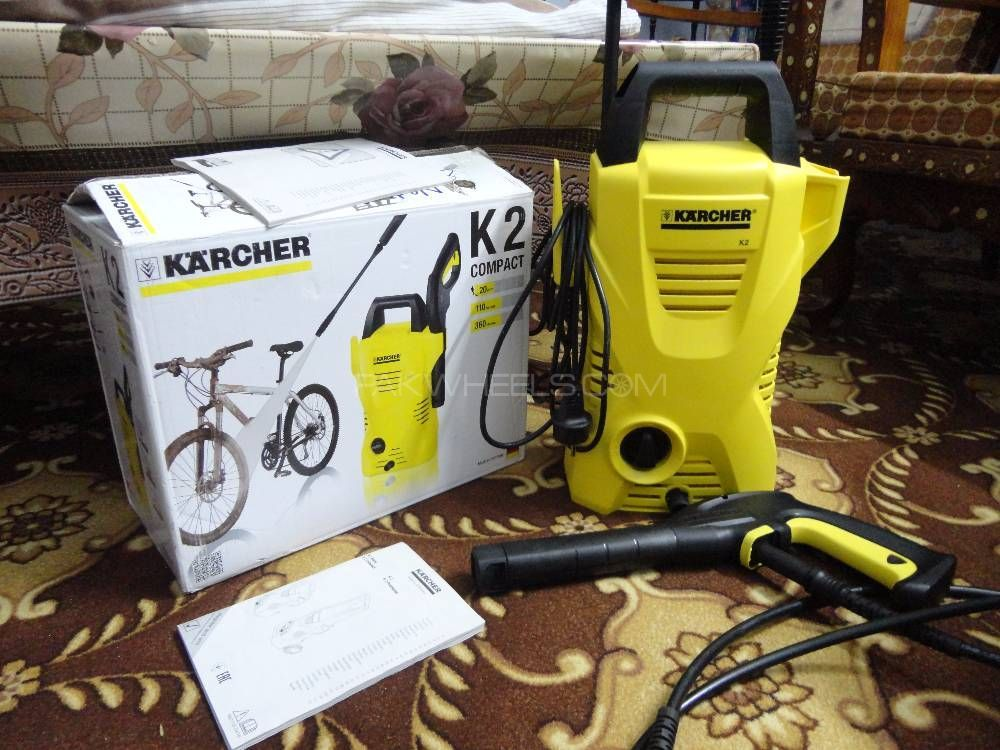karcher k2 compact pressure washer for sale in taxila parts accessories 2498092 pakwheels. Black Bedroom Furniture Sets. Home Design Ideas