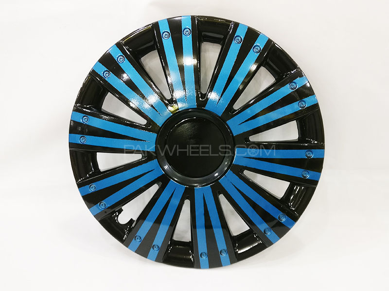 "X8 Wheels Cover Two Tone 12"" Blue Black - 1292 in Lahore"