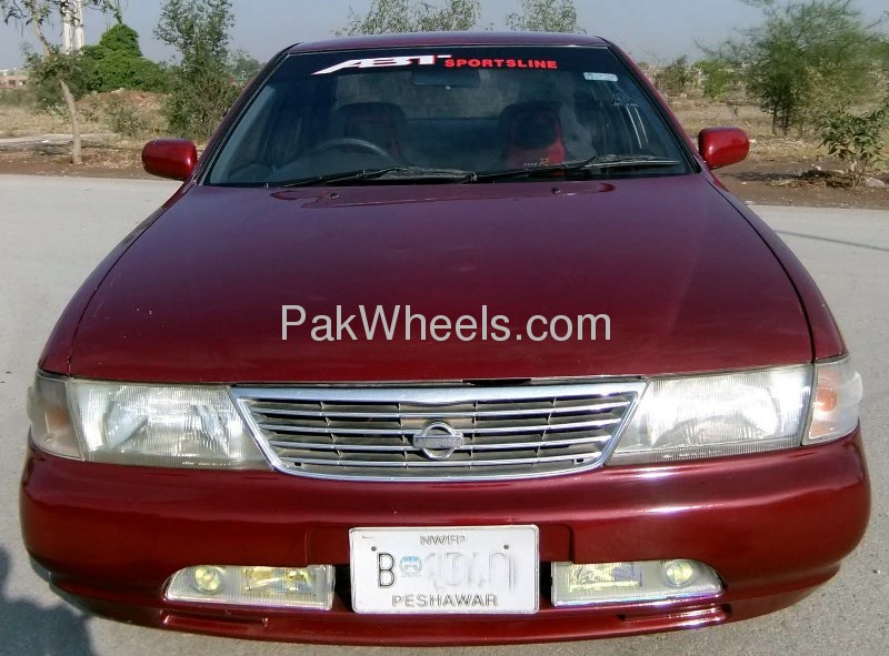 Nissan Sunny EX Saloon 1.3 (CNG) 1998 Image-3