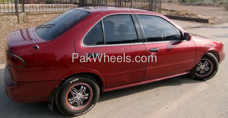 Nissan Sunny EX Saloon 1.3 (CNG) 1998 Image-5