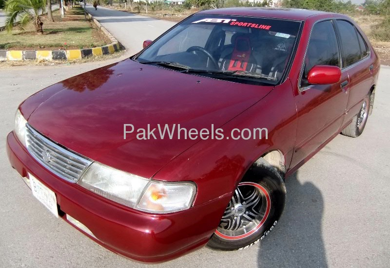 Nissan Sunny EX Saloon 1.3 (CNG) 1998 Image-8