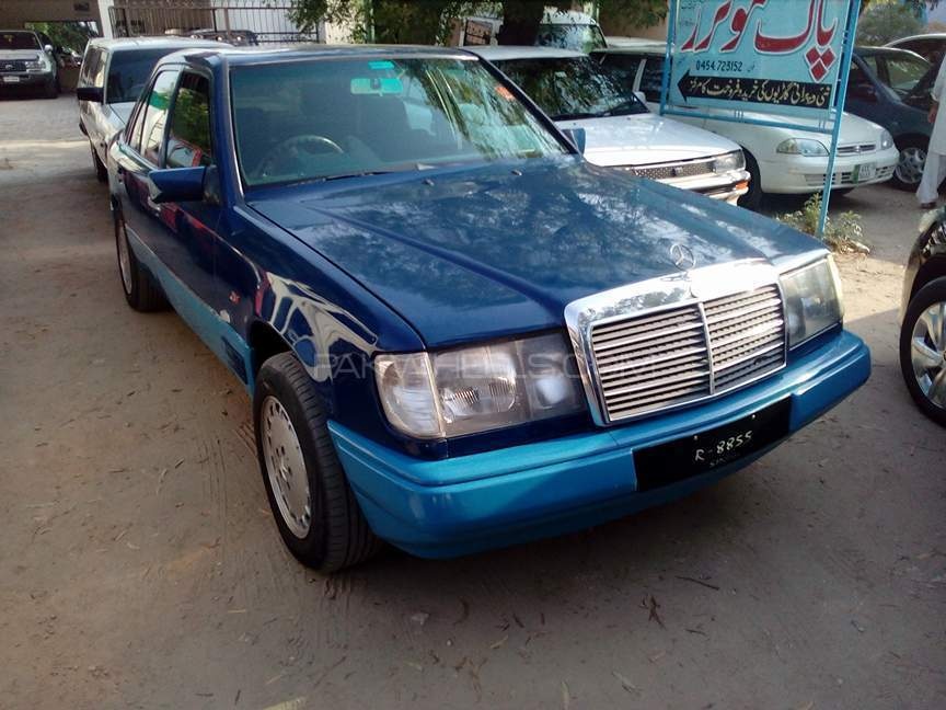 Mercedes benz e class 1987 for sale in islamabad pakwheels for Mercedes benz e series for sale