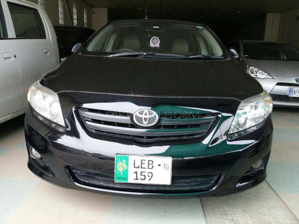 toyota corolla gli 1 3 vvti 2009 for sale in lahore. Black Bedroom Furniture Sets. Home Design Ideas