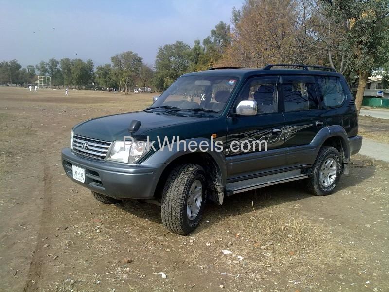 Toyota Prado TX Limited 2.7 1996 Image-1