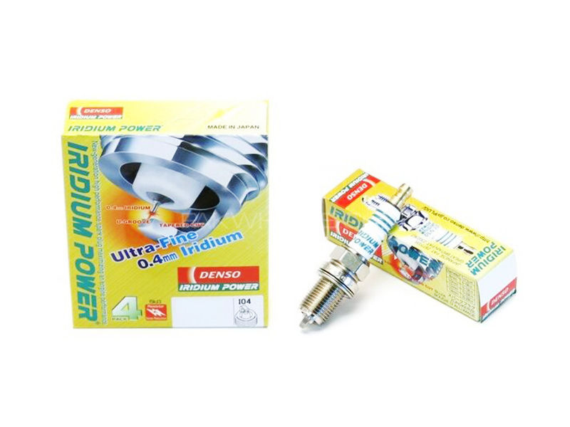 Iridium Spark Plug Genuine Denso IKH20- 4pcs in Karachi