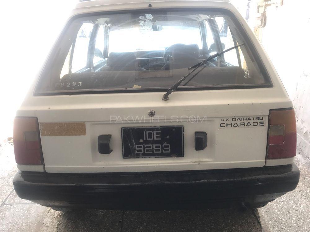 Daihatsu Charade CX 1986 For Sale In Rawalpindi