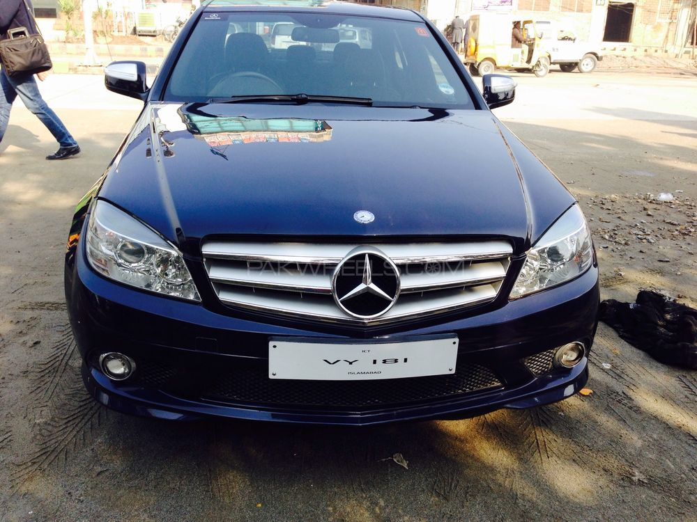 mercedes benz c class c180 2008 for sale in islamabad. Black Bedroom Furniture Sets. Home Design Ideas