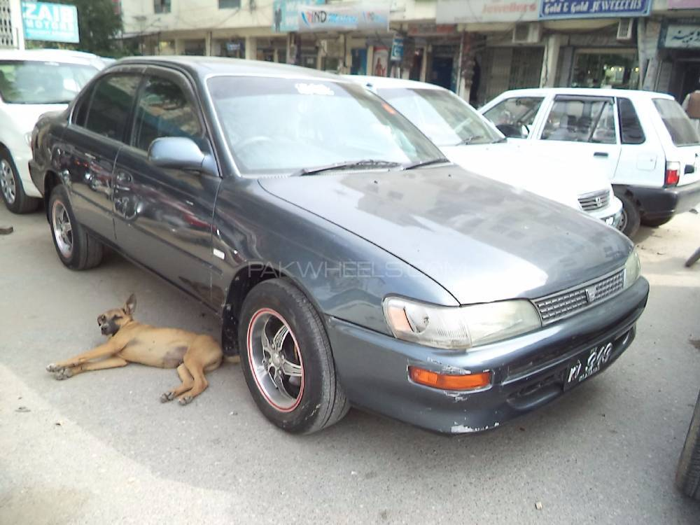 toyota corolla se limited 1995 for sale in islamabad pakwheels. Black Bedroom Furniture Sets. Home Design Ideas