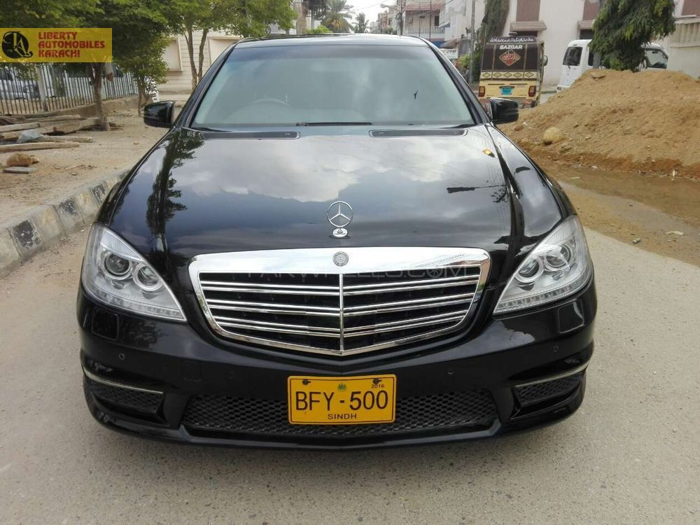 Mercedes benz s class s500 2007 for sale in karachi for Mercedes benz s class 2007