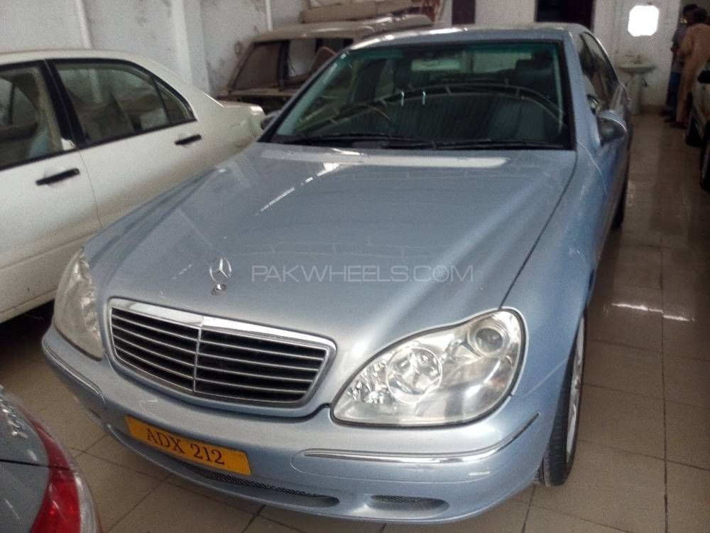 Mercedes benz s class s500 2002 for sale in multan pakwheels for Mercedes benz 2002 s500 for sale