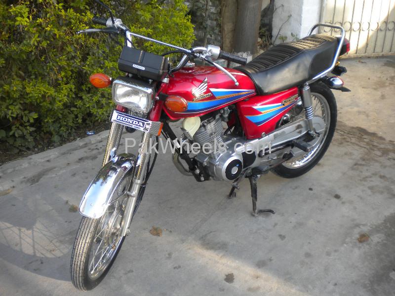 Honda CG 125 2008 Image-4