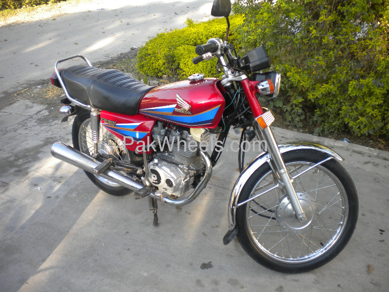 Used Honda CG-125 2008 Bike for sale in Islamabad - Used Bike 99831 - 1764601