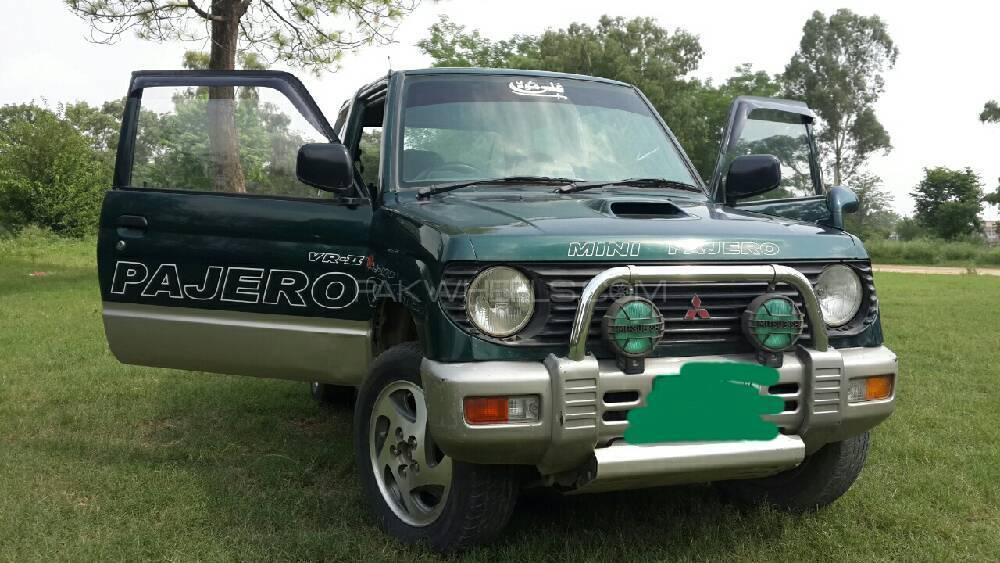 Mitsubishi Pajero Mini 1995 Image-1