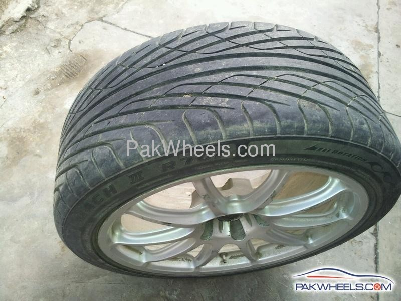 18 inch rims tires for sale pcd 114 3 x5 for sale in faisalabad car