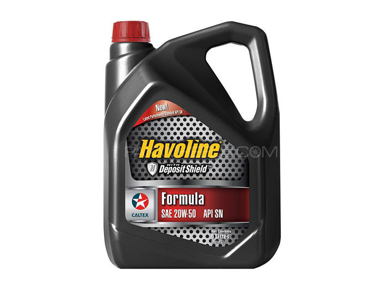 buy havoline motor oil sae 20w 50 4l in pakistan pakwheels. Black Bedroom Furniture Sets. Home Design Ideas