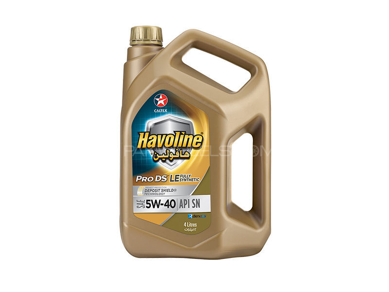 Havoline ProDS Fully Synthetic LE SAE 5W-40 4L Image-1