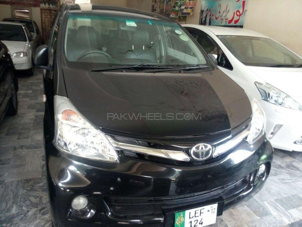 Toyota Avanza Standard 1.5 2012 Image-1