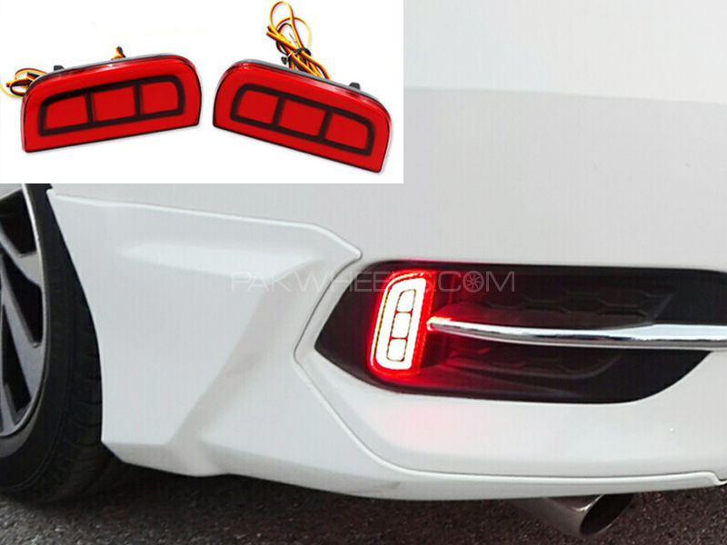 Honda Civic 2016 Rear Bumper Light  Image-1