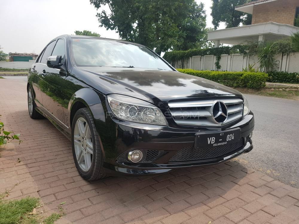 Mercedes benz c class c200 2008 for sale in islamabad for Mercedes benz c class 2008 for sale