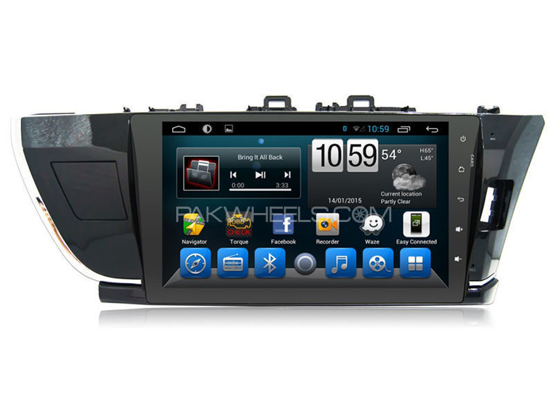Android Tab for Toyota Corolla 2014-2016 in Lahore